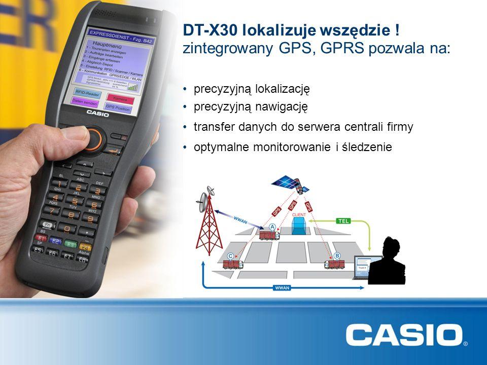 DT-X30 lokalizuje wszędzie !