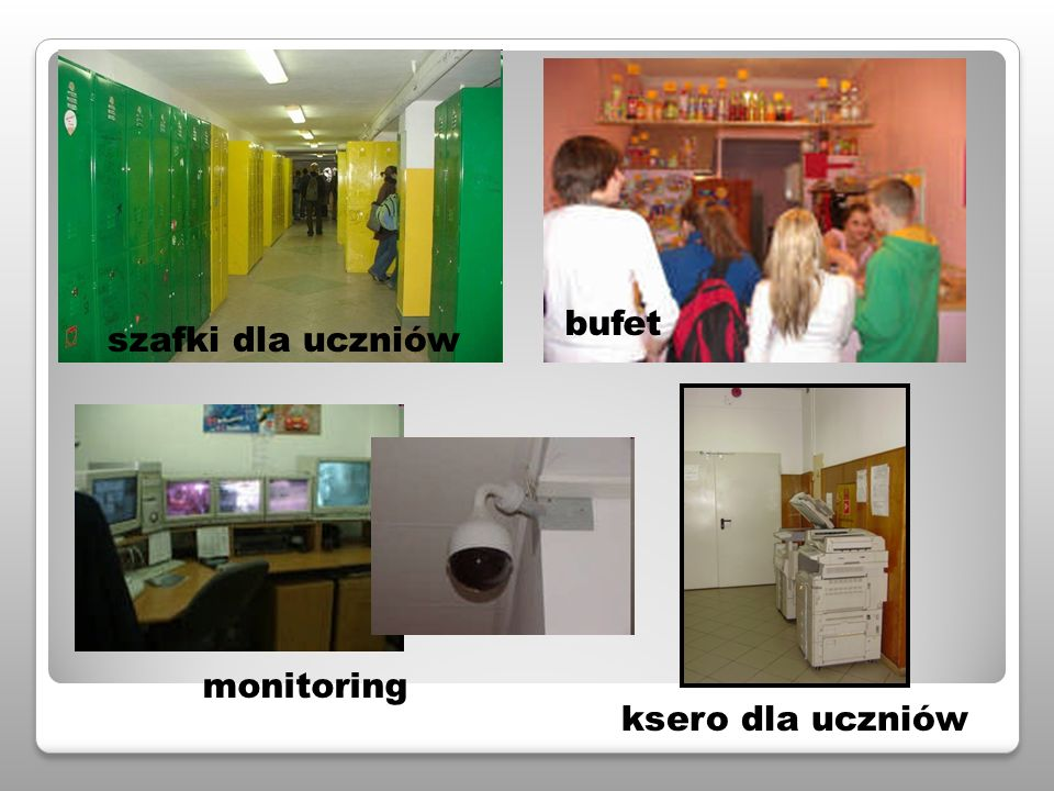 bufet monitoring ksero dla uczniów