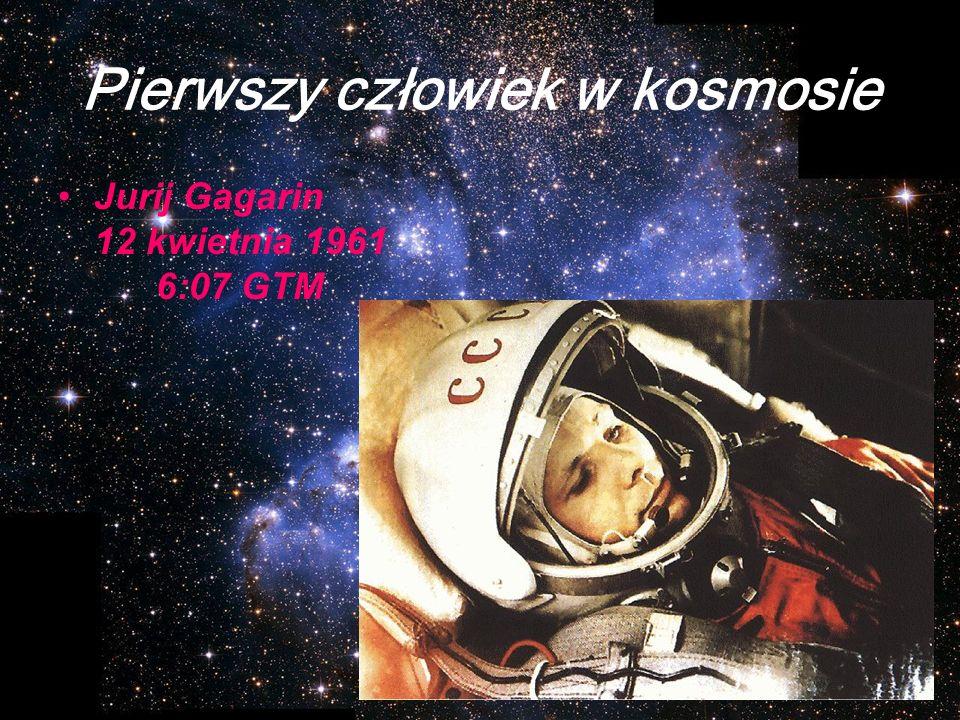 Pierwszy człowiek w kosmosie