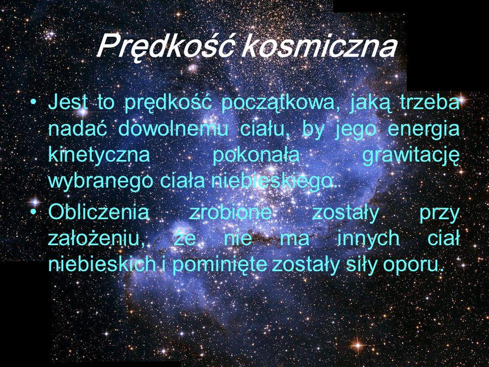 Prędkość kosmiczna