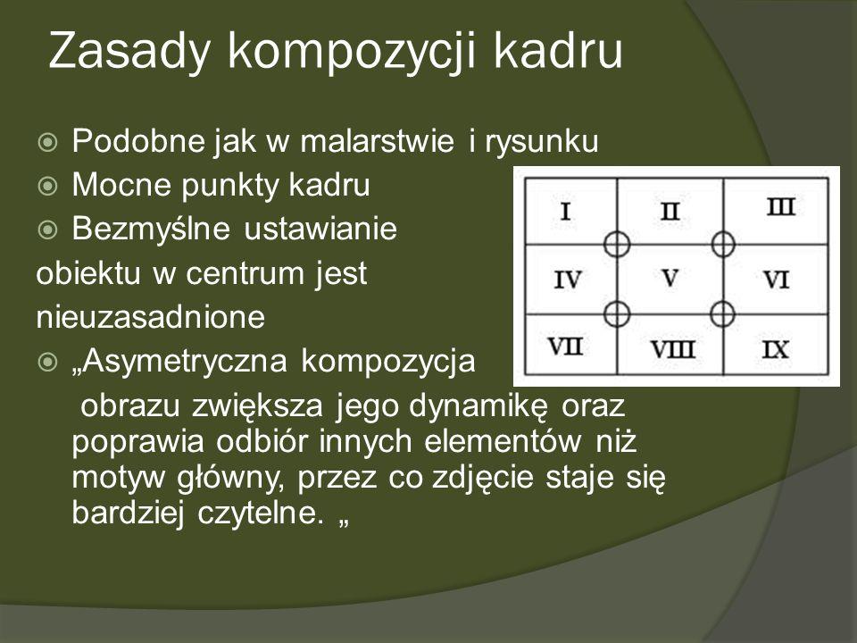 Zasady kompozycji kadru