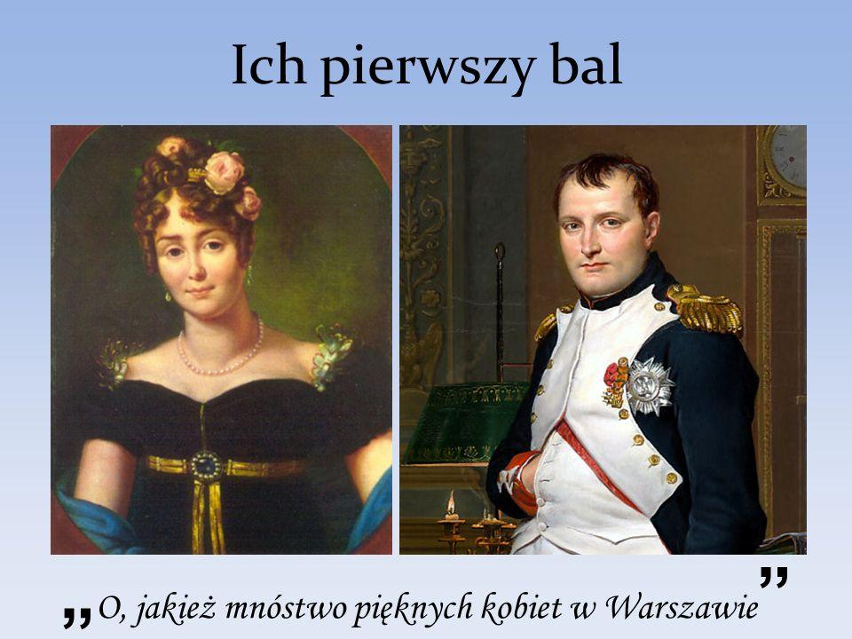 """""""O, jakież mnóstwo pięknych kobiet w Warszawie"""