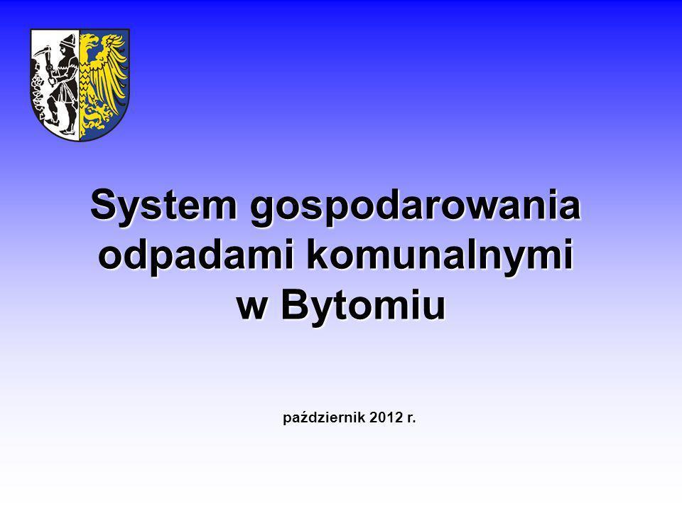 System gospodarowania odpadami komunalnymi w Bytomiu