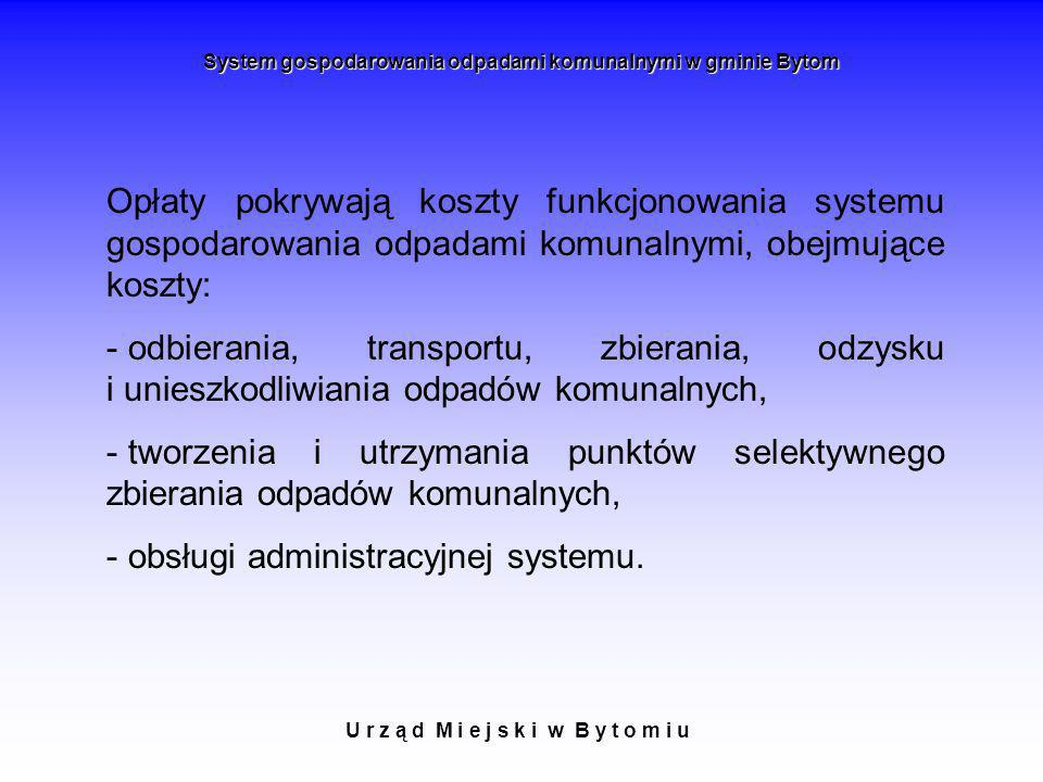obsługi administracyjnej systemu.