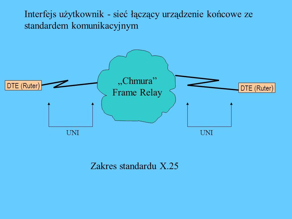Interfejs użytkownik - sieć łączący urządzenie końcowe ze