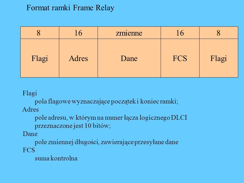 Format ramki Frame Relay