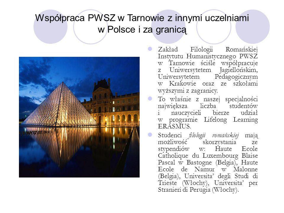 Współpraca PWSZ w Tarnowie z innymi uczelniami w Polsce i za granicą