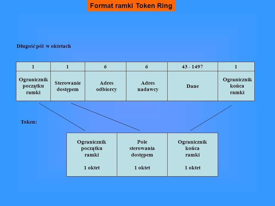 Format ramki Token Ring
