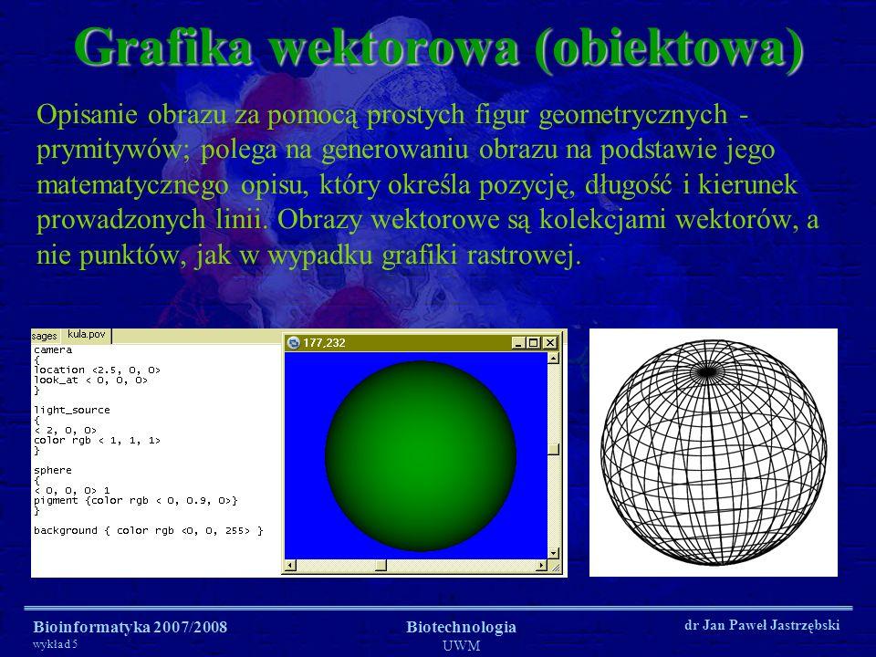 Grafika wektorowa (obiektowa)