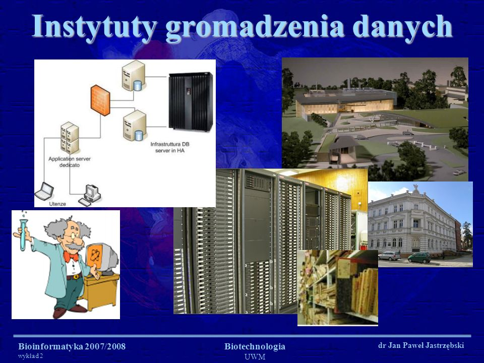 Instytuty gromadzenia danych