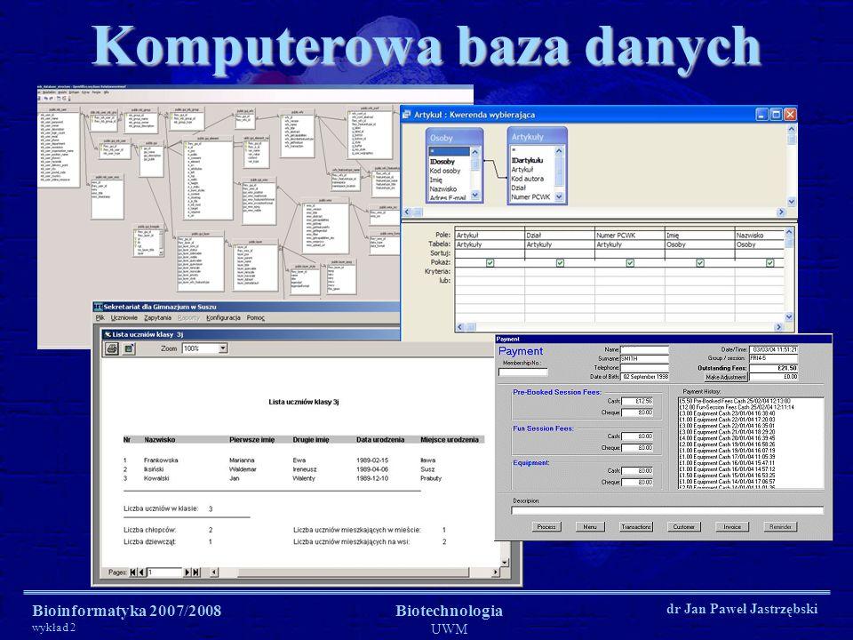 Komputerowa baza danych