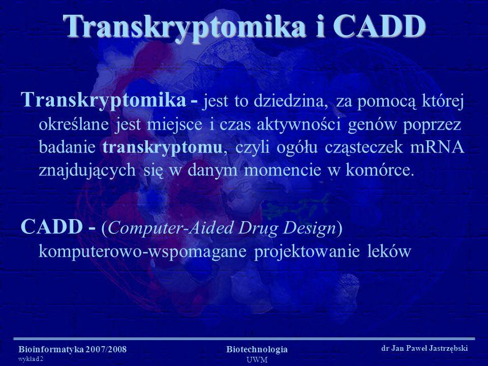 Transkryptomika i CADD