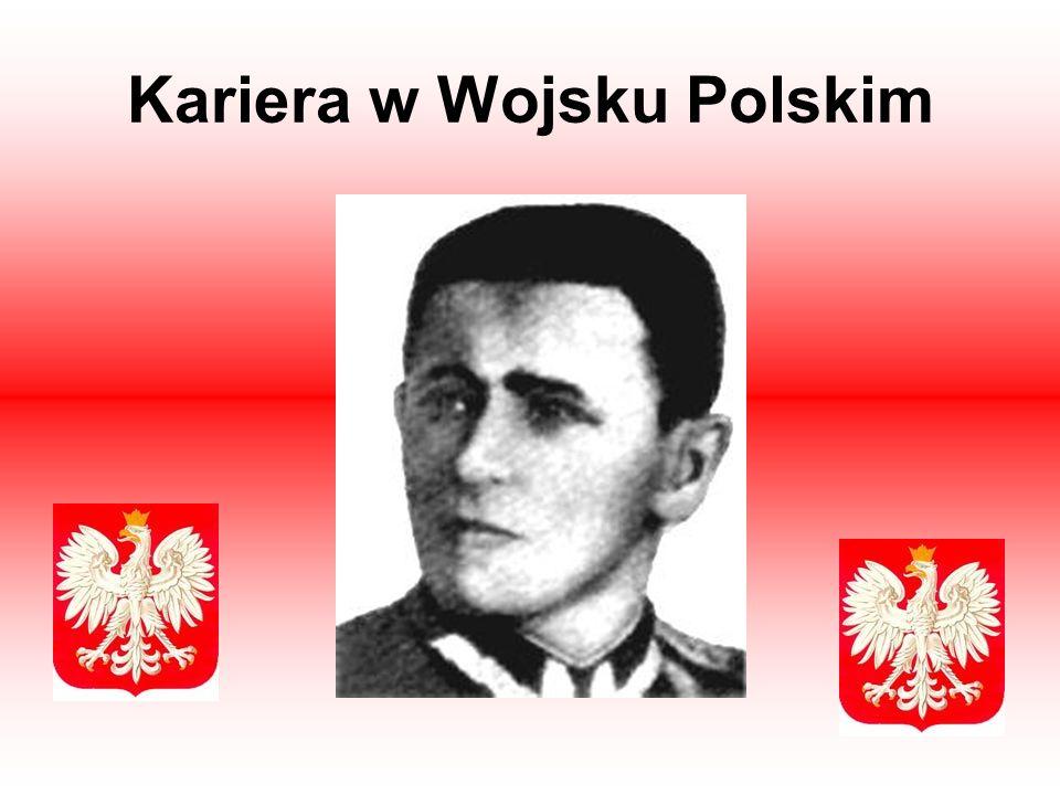 Kariera w Wojsku Polskim