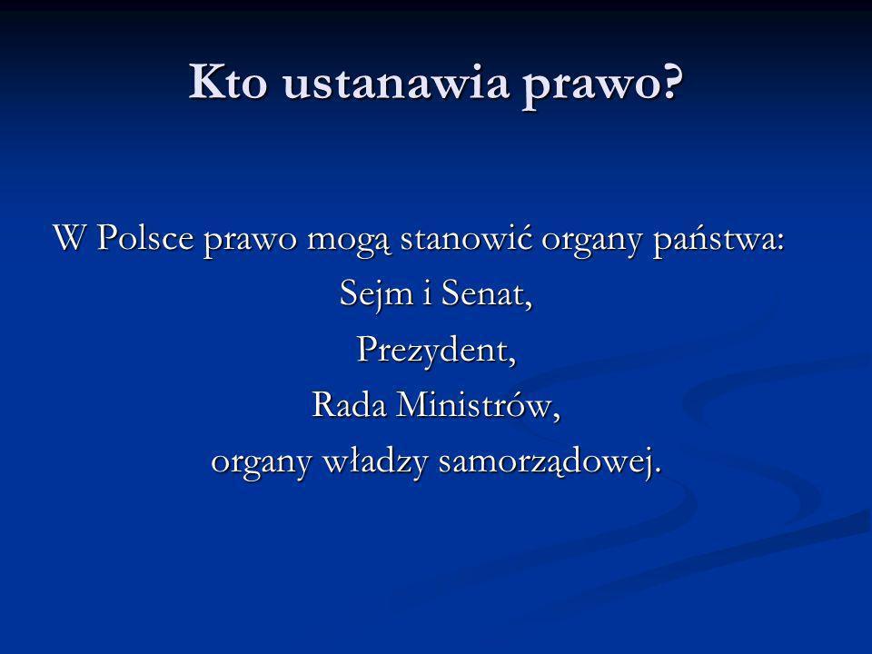 organy władzy samorządowej.