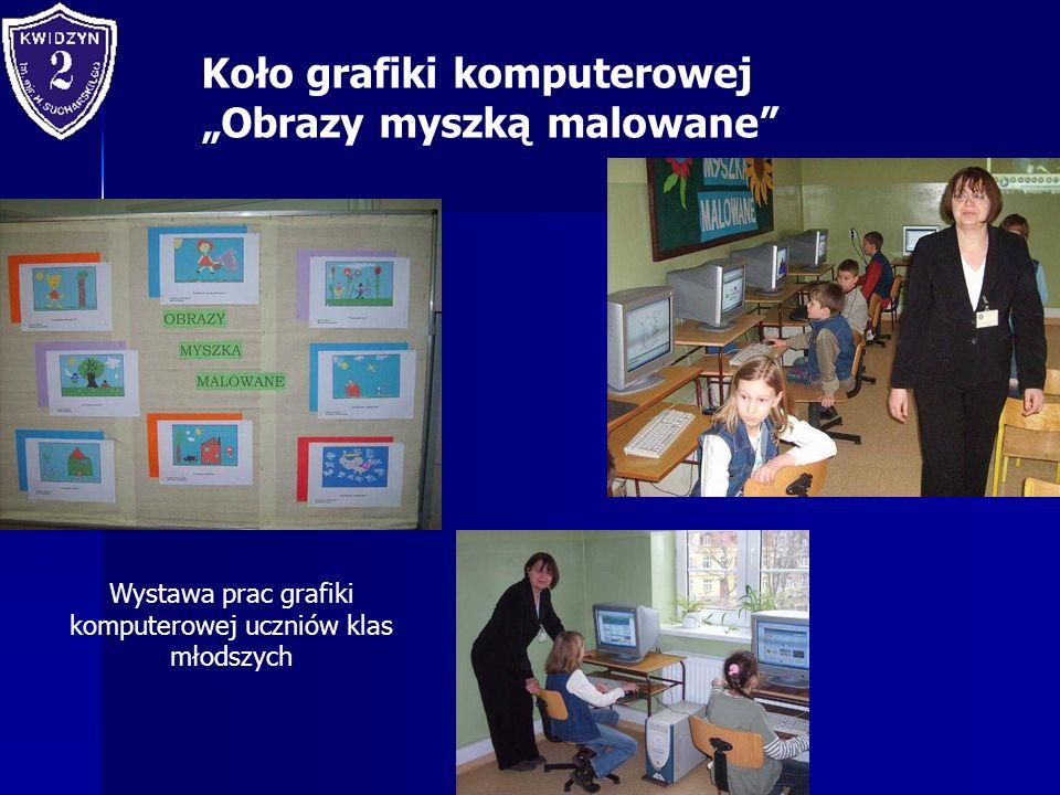 Wystawa prac grafiki komputerowej uczniów klas młodszych