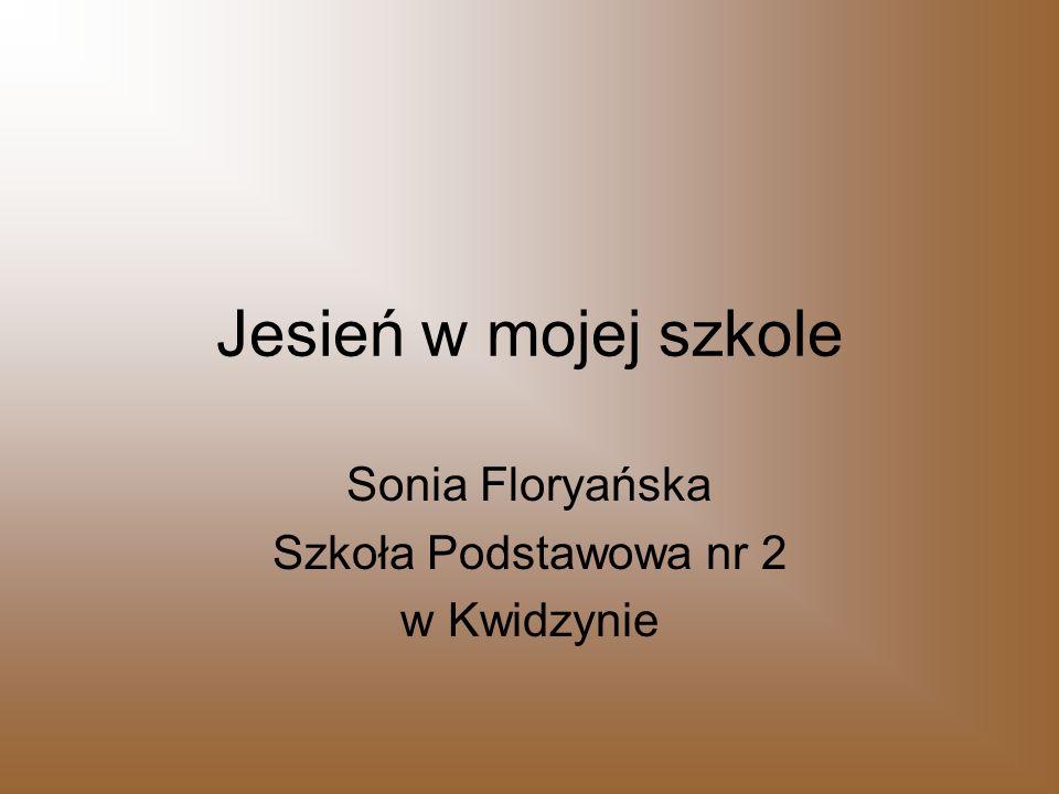Sonia Floryańska Szkoła Podstawowa nr 2 w Kwidzynie