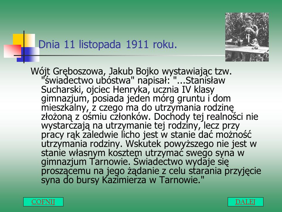 Dnia 11 listopada 1911 roku.