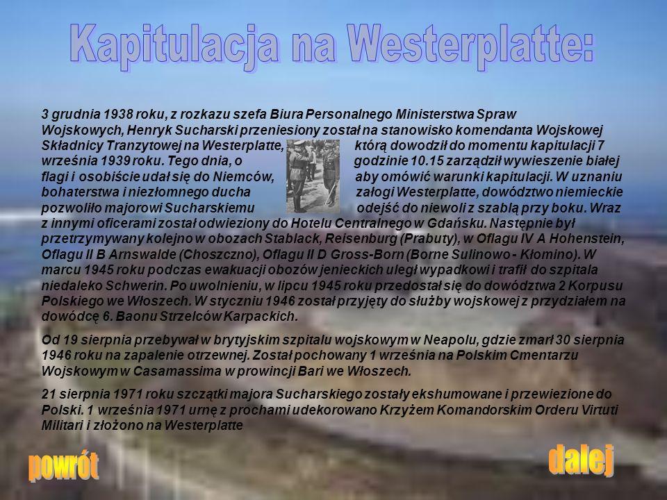Kapitulacja na Westerplatte: