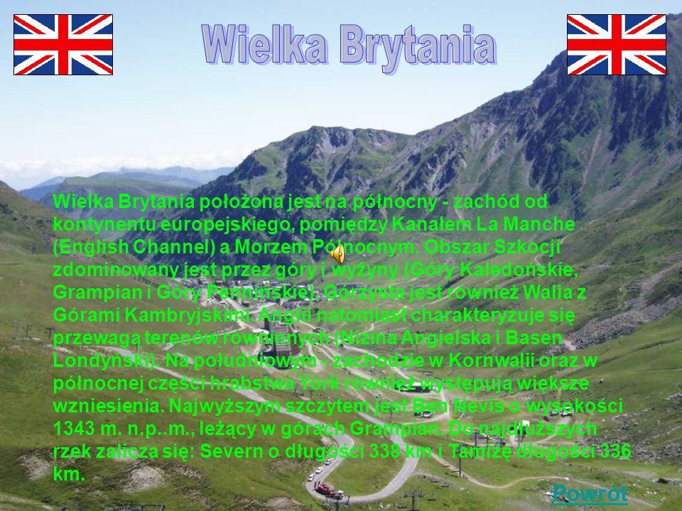 Wielka Brytania Powrót