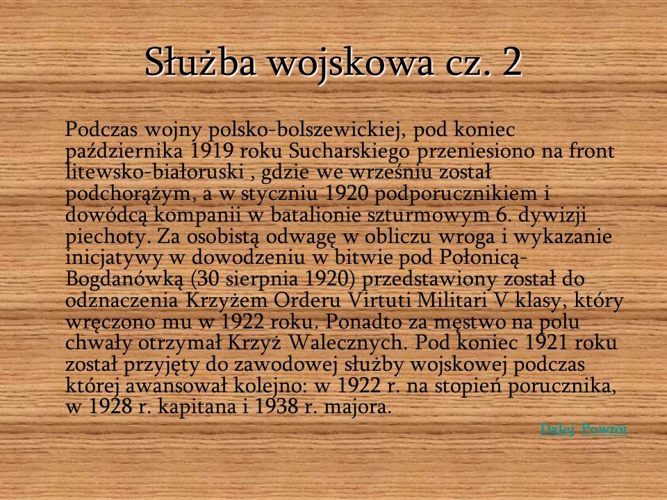 Służba wojskowa cz. 2