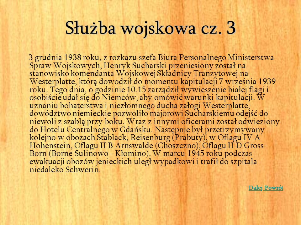 Służba wojskowa cz. 3