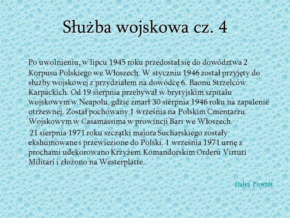 Służba wojskowa cz. 4