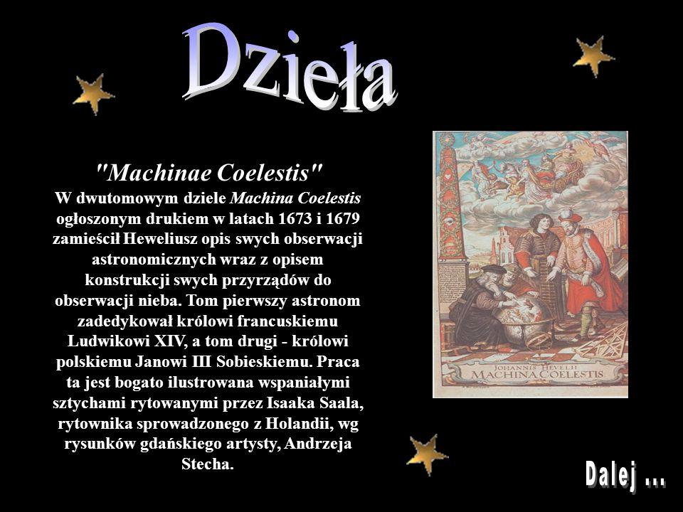 Dzieła Dalej ... Machinae Coelestis