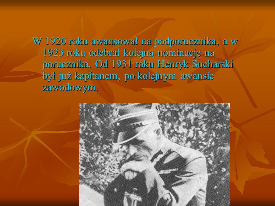 W 1920 roku awansował na podporucznika, a w 1923 roku odebrał kolejną nominację na porucznika.