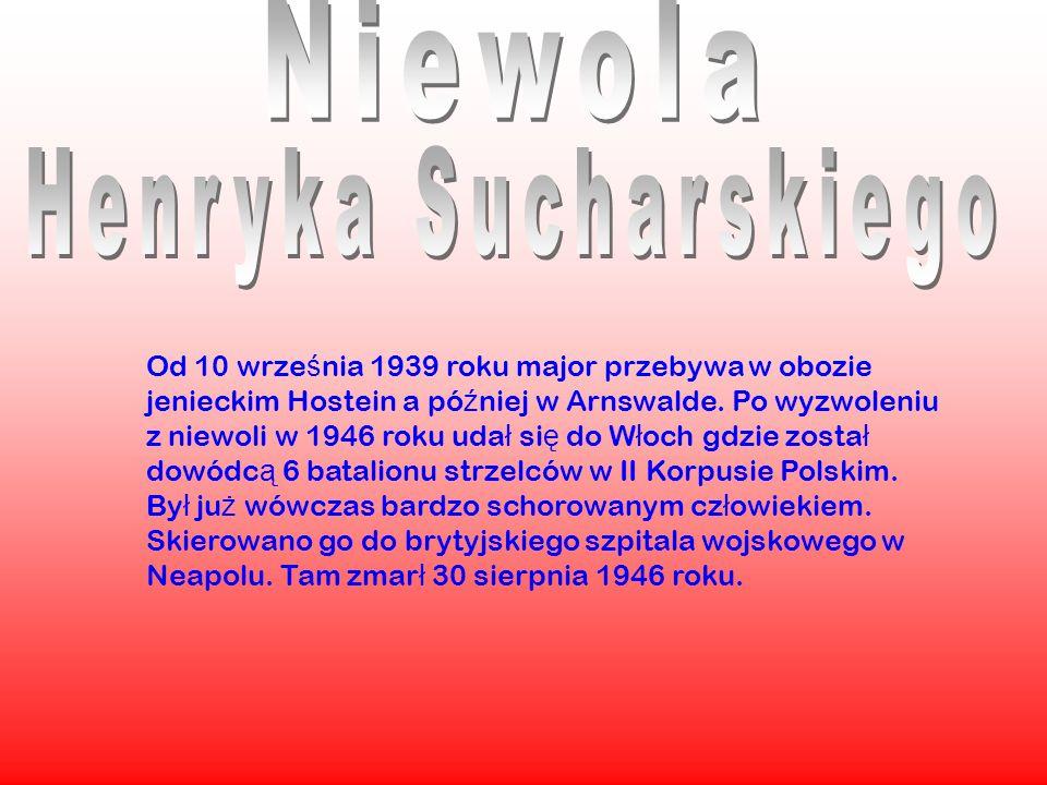 Niewola Henryka Sucharskiego