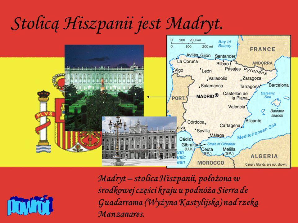Stolicą Hiszpanii jest Madryt.