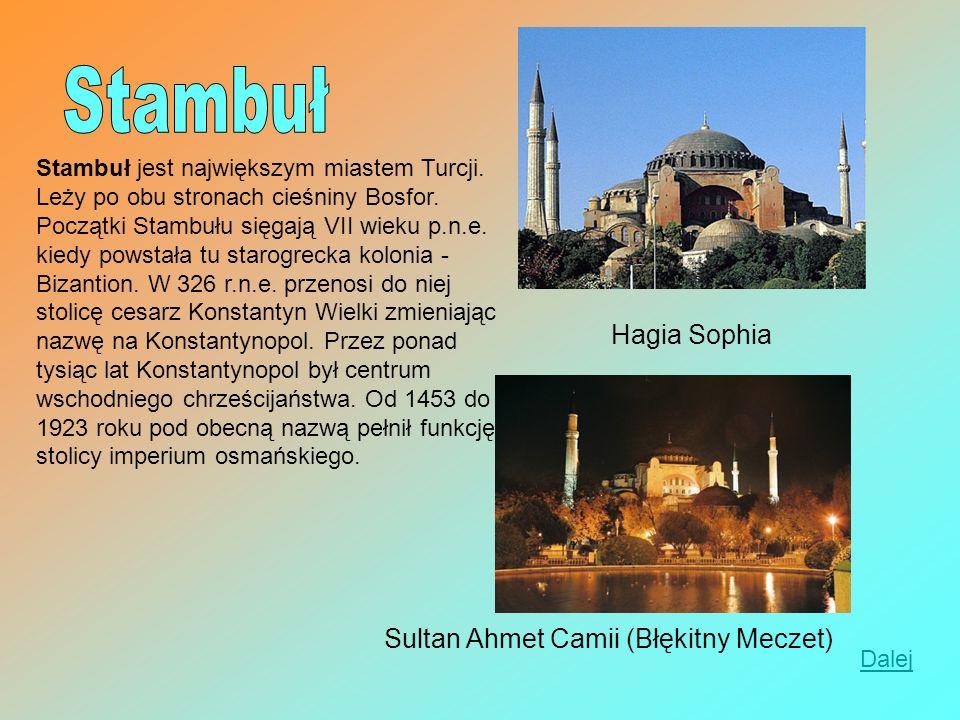 Stambuł Hagia Sophia Sultan Ahmet Camii (Błękitny Meczet)