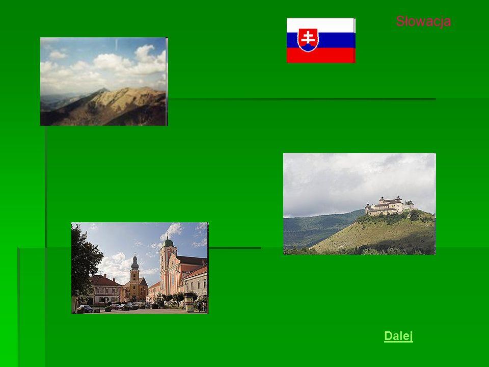 Słowacja Dalej