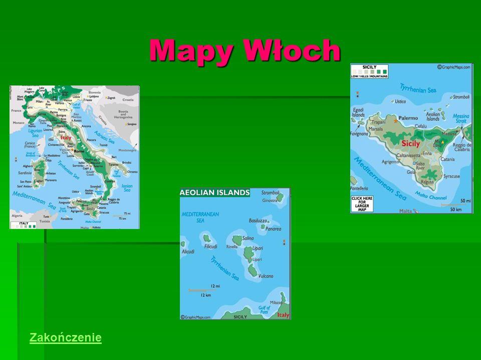 Mapy Włoch Zakończenie