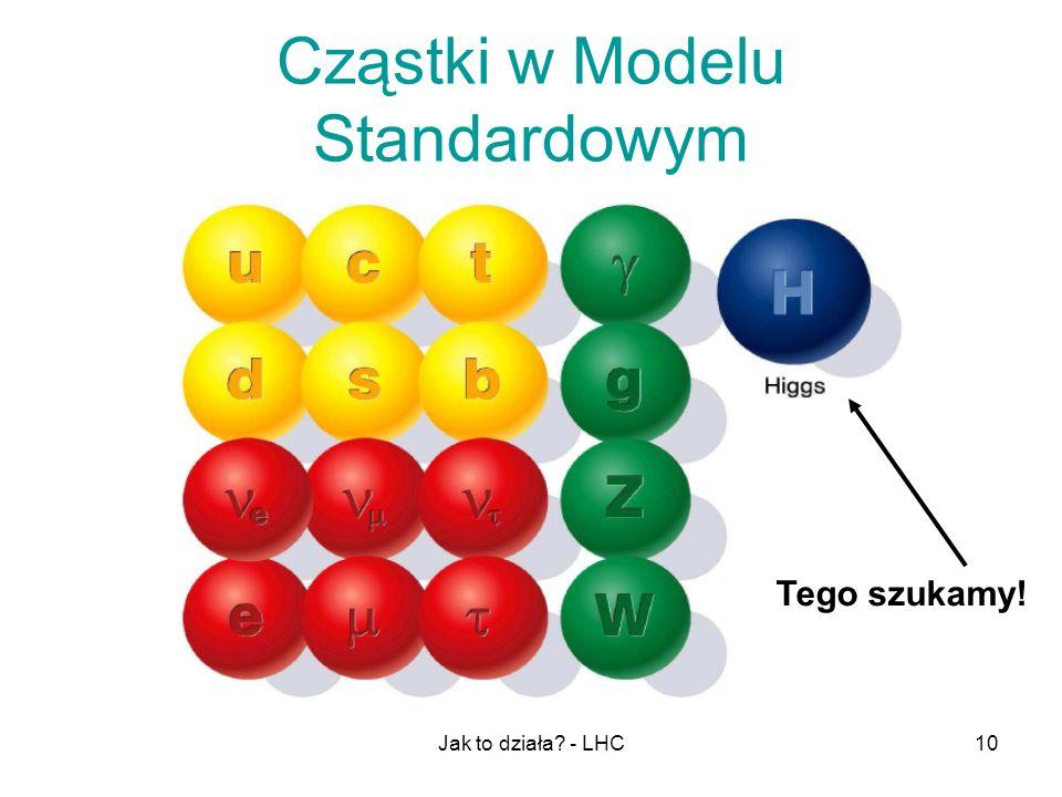 Cząstki w Modelu Standardowym