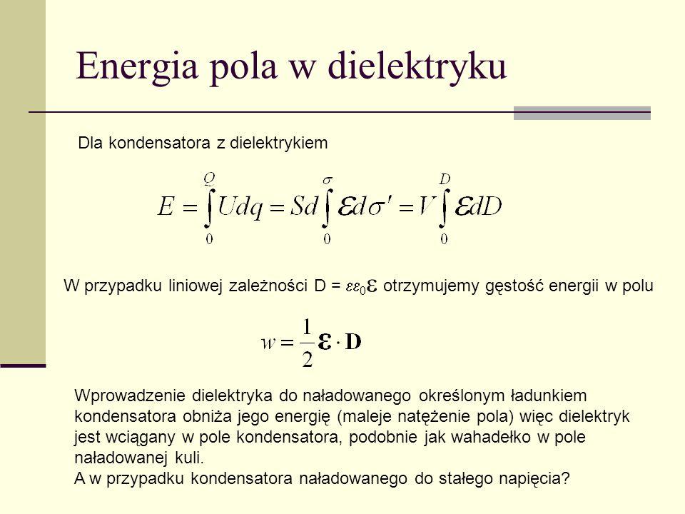 Energia pola w dielektryku