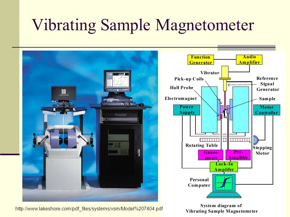 Vibrating Sample Magnetometer