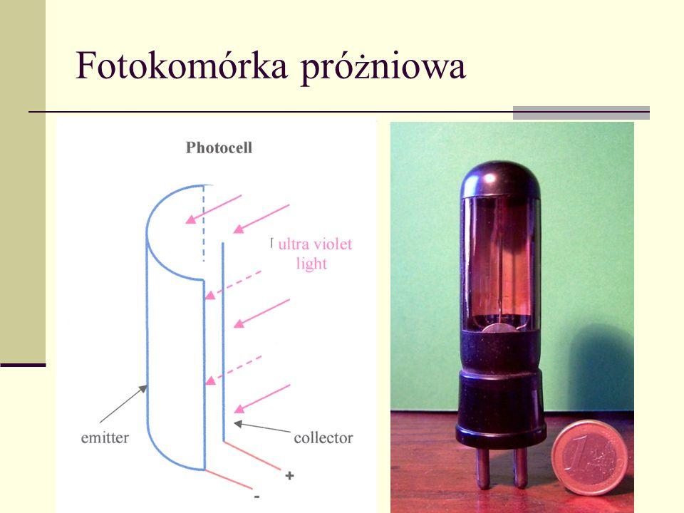 Fotokomórka próżniowa