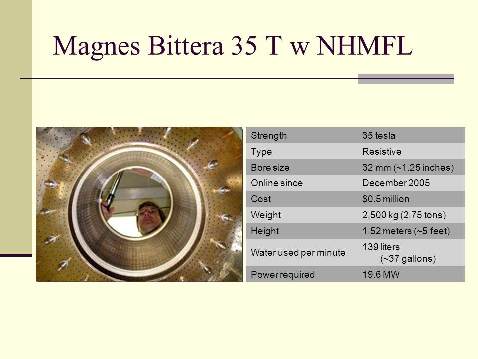 Magnes Bittera 35 T w NHMFL