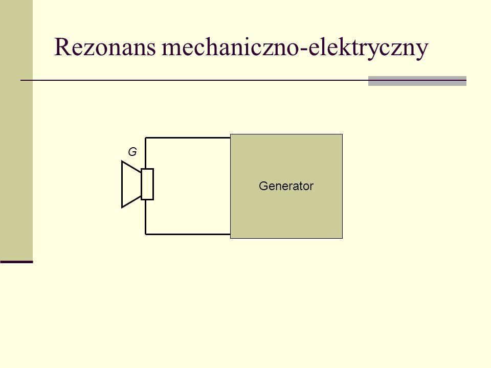 Rezonans mechaniczno-elektryczny