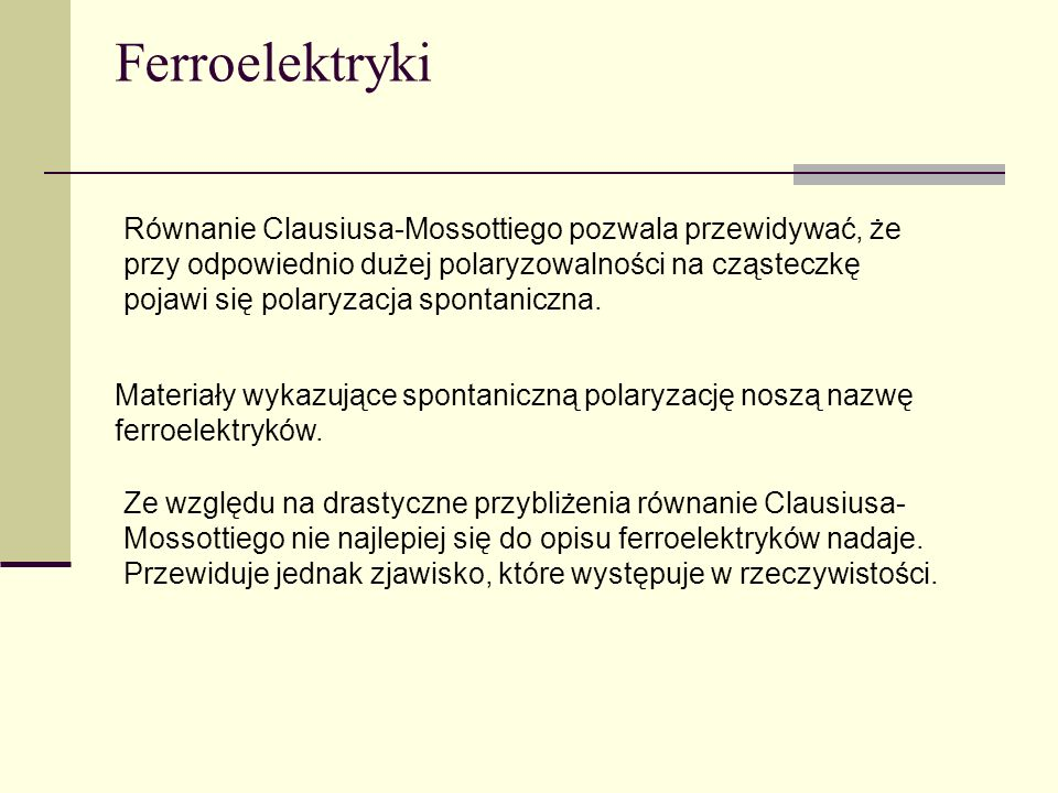 Ferroelektryki