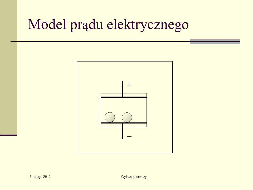 Model prądu elektrycznego