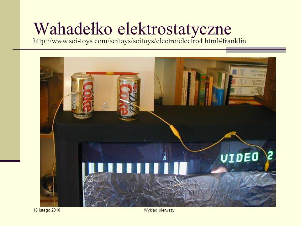 Wahadełko elektrostatyczne