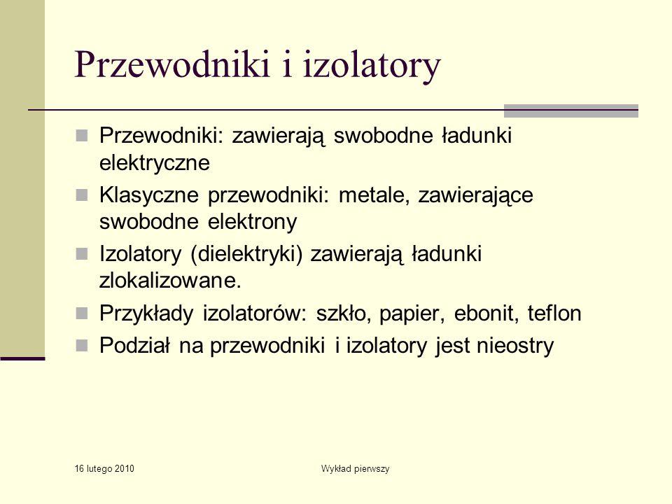 Przewodniki i izolatory