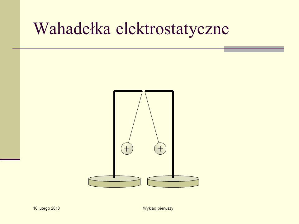 Wahadełka elektrostatyczne