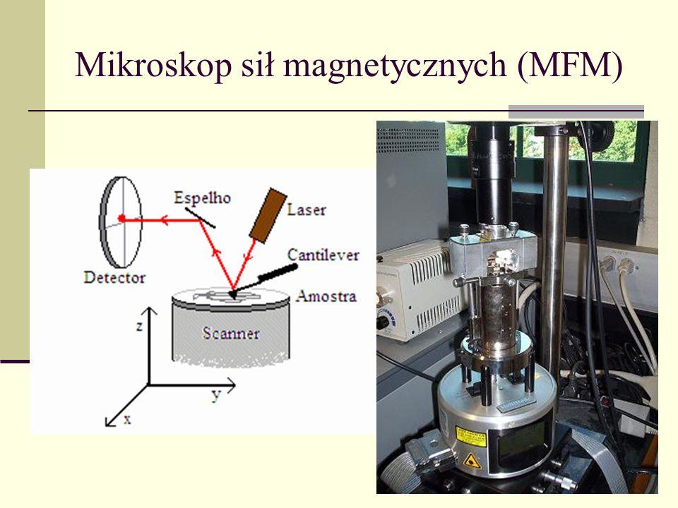 Mikroskop sił magnetycznych (MFM)