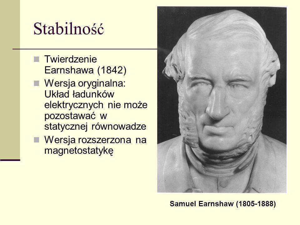 Stabilność Twierdzenie Earnshawa (1842)