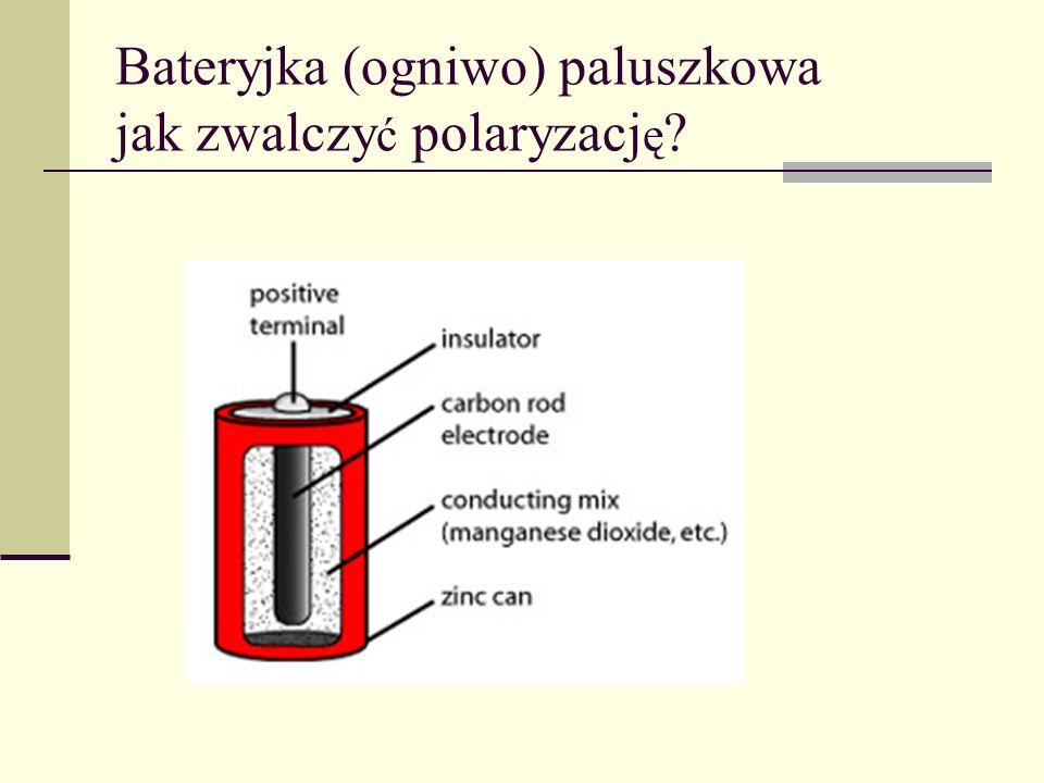 Bateryjka (ogniwo) paluszkowa jak zwalczyć polaryzację