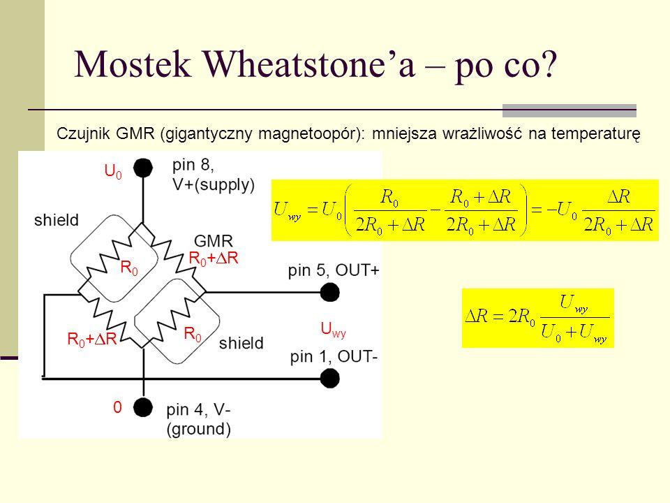 Mostek Wheatstone'a – po co