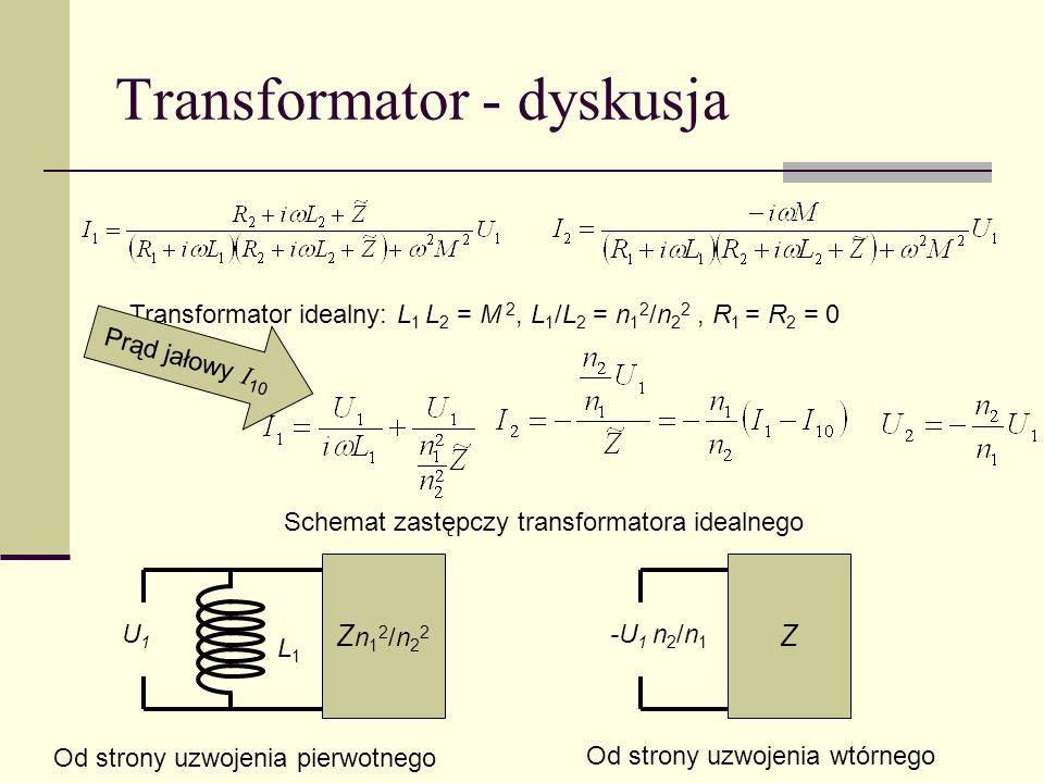 Transformator - dyskusja