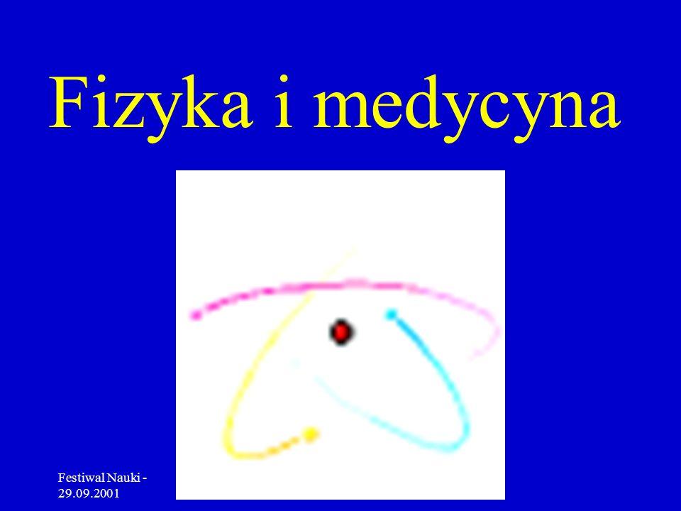 Fizyka i medycyna Festiwal Nauki - 29.09.2001